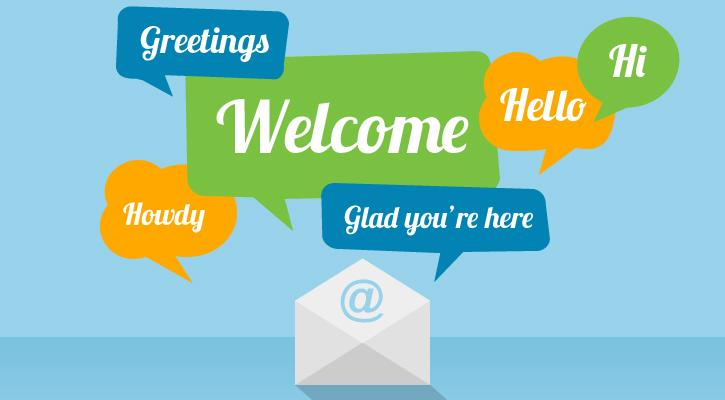 welcome email series